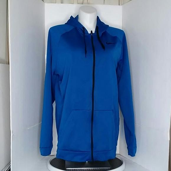 Nike Dry Fit Royal Blue Full Zip size 3XLT